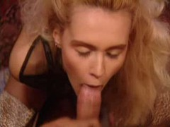 Two cocks penetrate this blonde slut videos