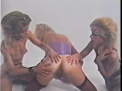 Lesbian threesome from the 80s is hot movies at find-best-mature.com