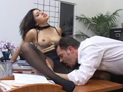 Sweet pantyhose girl in the office fucked movies at find-best-hardcore.com