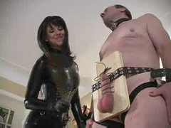 It is all about pain for his submissive balls videos