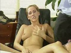 Two secretaries playing with big dick office dude videos