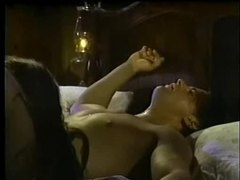 Christy canyon in a romantic hardcore scene movies at lingerie-mania.com