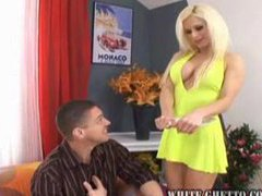 Busty blonde in slutty dress fucked movies at kilopics.net