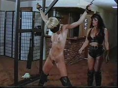 Lesbian in bondage is smacked around by a mistress movies at find-best-babes.com