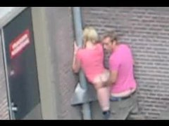 Couple has public sex on a city street movies at find-best-babes.com
