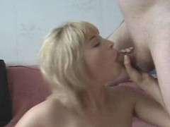 Dildo and cock slide into ass of blonde slut movies at sgirls.net