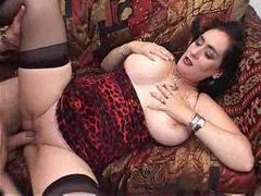 Big natural tit slut enjoys fucking hard videos