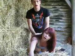 Amateur redhead fucked by her man outdoors movies at sgirls.net