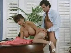 Horny boss fucks his big titted secretary movies at sgirls.net