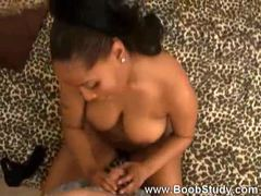 Black chick with big tits giving bj and handy movies at kilopics.net