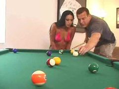 Pool game turns into sex with latina tubes