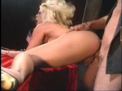 Busty blonde fucked by a cowboy movies at lingerie-mania.com