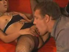 Pussy licking and fucking for stockings girl movies at sgirls.net