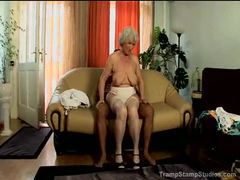 Big titty granny in stockings pounded videos