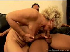 Granny fucked by a black cock videos