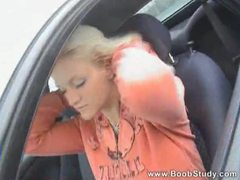 Big tits out while she drives down the road movies at find-best-lesbians.com