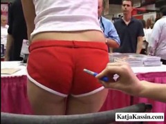 See katja kassin at an adult show videos