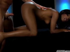 Interracial sex in the dark room movies at relaxxx.net