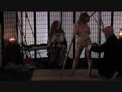 Redhead shibari bondage videos