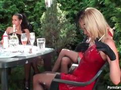 Party with classy girls is a mess outdoors movies at find-best-mature.com