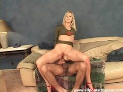Gorgeous blonde with nice long legs gets her ass impaled movies at sgirls.net