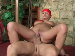 Tight bodied latina milf with bandana getting slammed videos