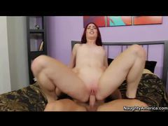 Round assed redhead with flawless fair skin fucked raw movies at find-best-babes.com