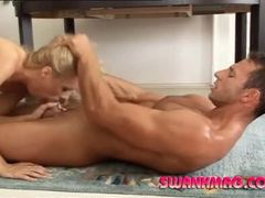 Smoking hot blonde minx enjoys riding a thick dick movies at kilosex.com