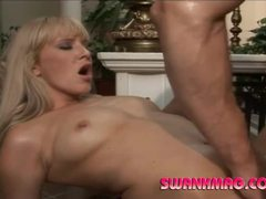 Blonde milf with gorgeous body getting slammed videos