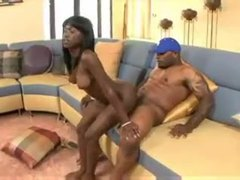 Fit and sexy black girl laid by her black lover videos