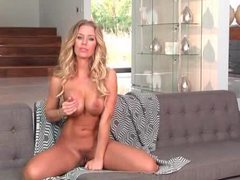 Pink lace clings to the body of pornstar nicole aniston movies at freelingerie.us