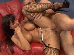 Lisa ann hardcore fishnets sex videos