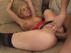 Blonde anal slut and her ass to mouth friends videos