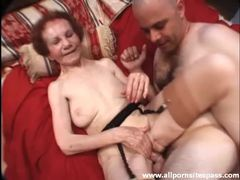 Skinny granny fucked by father and son videos