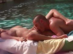 Erotic cocksucking and fucking poolside movies at find-best-tits.com