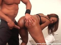 Gorgeous black girl arrives for lusty foreplay videos