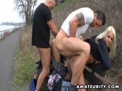 Hot amateur sluts suck and fuck outdoor movies at find-best-panties.com