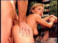 He slips from her ass and cums in her mouth movies at lingerie-mania.com