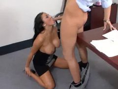 Audrey bitoni hot office blowjob movies at very-sexy.com