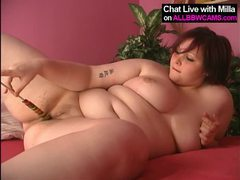 Lollypop in bbw pussy, yummy 2 movies at freekiloporn.com