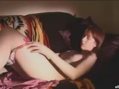 Adorable redhead amateur cutie rubs her pink pussy movies at kilogirls.com