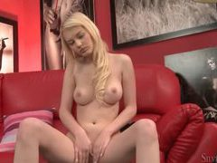 Young blonde has perfect natural tits movies at sgirls.net