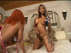 Black lesbina orgy with tongues and strapon movies