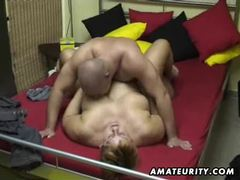 Chubby amateur wife sucks and fucks at home movies at kilosex.com