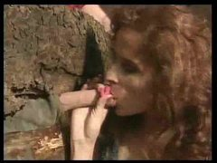 Farmer fucks redhead in the cabin movies at sgirls.net
