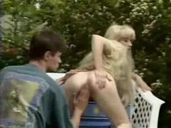 Lusty blonde gets wet pussy fisted outdoors movies at dailyadult.info