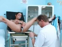 Perky tits teen girl and her doctor in exam movies at dailyadult.info