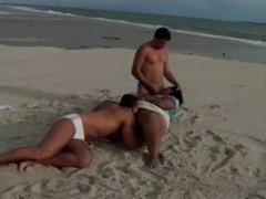 Black bbw with massive tits banged on the beach videos