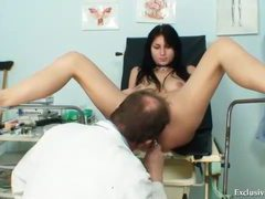 Doctor gives a sexy pussy exam videos