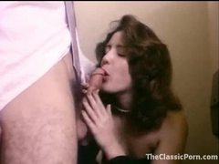 Retro porn in bathroom with cute chick movies at sgirls.net